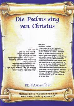 Die Psalms sing van Christus