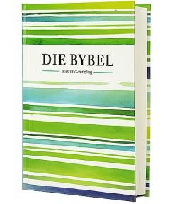 Bybel '33/53 vertaling (groen/ blou gestreep)