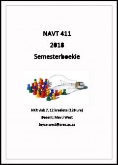NAVT 411 Semesterboekie