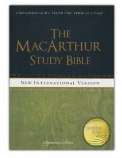 MacArthur study Bible - NIV