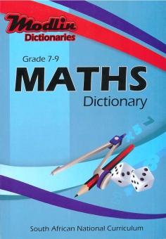 Maths Dictionary Gr 7 - 9