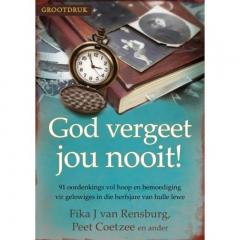 God vergeet jou nooit