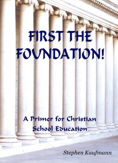 First the Foundation