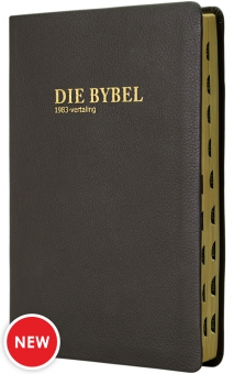 Die Bybel '83  Medium EGTE LEER OMSLAG