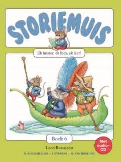 Storiemuis Boek 6 (met CD)