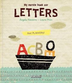 My eerste boek oor letters - met plakkers