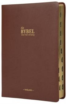 Die Bybel '33/53 grootdruk leer omslag (NUUT)