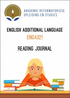 ENGA 321 Reading Journal