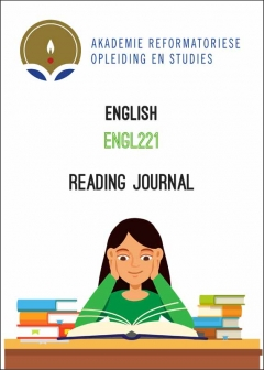 ENGL 221 Reading Journal