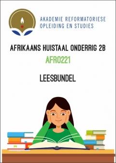 AFRO 221 Leesbundel