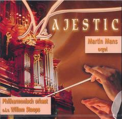 Majestic orgel en orkest