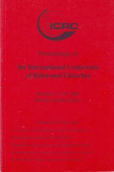 Proceed of Intern. Conf.of Ref Church (Folmer