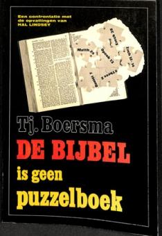 De Bijbel is geen puzzelboek (Folmer)