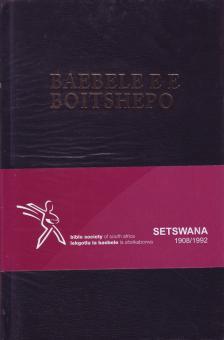 Tswana Bybel standaard (Hardeband)