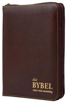 Sakbybel  met ritssluiter '33/53 (leeromslag)